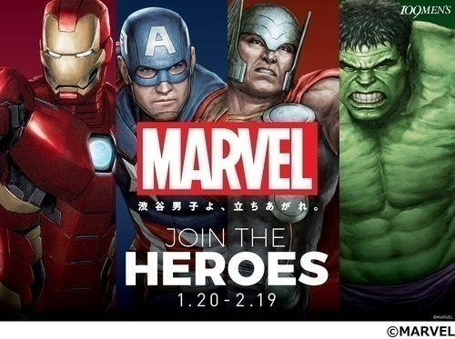 【MARVEL:JOIN THE HEROES】
