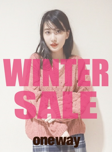 【one way】WINTER SALE!!