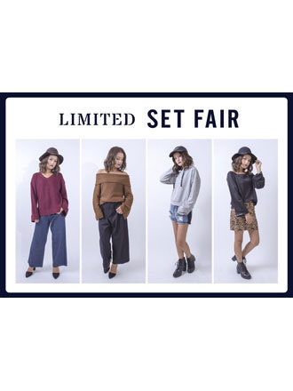 【Backs Store】SET FAIR&NOVELTY